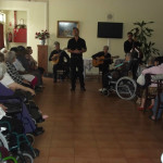 A Sorriso Solidário leva tarde de fados aos idosos das Casas São Vicente Paulo